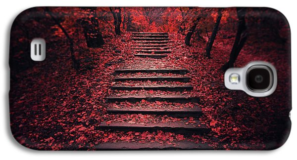 Autumn Stairs Galaxy S4 Case