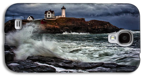 Autumn Storm At Cape Neddick Galaxy S4 Case