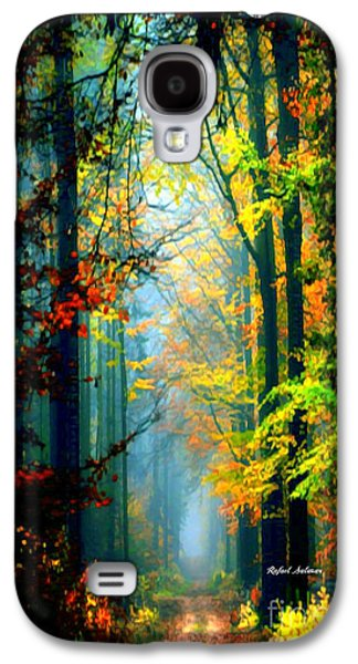 Autumn Trails In Georgia Galaxy S4 Case