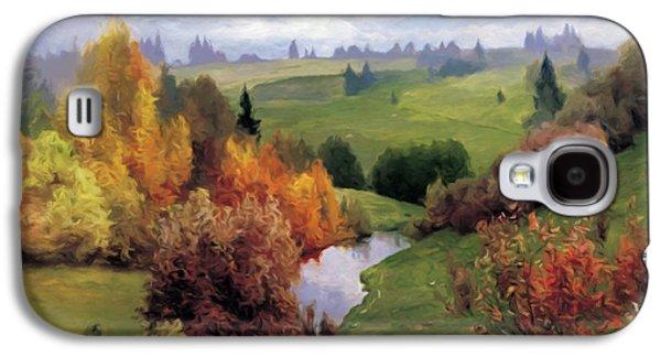 Autumn Valley Of Dreams Galaxy S4 Case