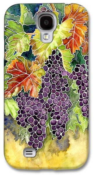 Autumn Vineyard In Its Glory - Batik Style Galaxy S4 Case