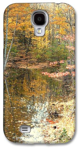 Autumn Vintage Landscape 1 Galaxy S4 Case
