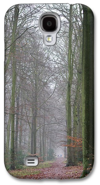 Autumn Woodland Avenue Galaxy S4 Case