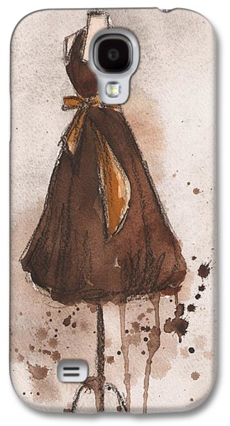Autumn's Gold Vintage Dress Galaxy S4 Case by Lauren Maurer