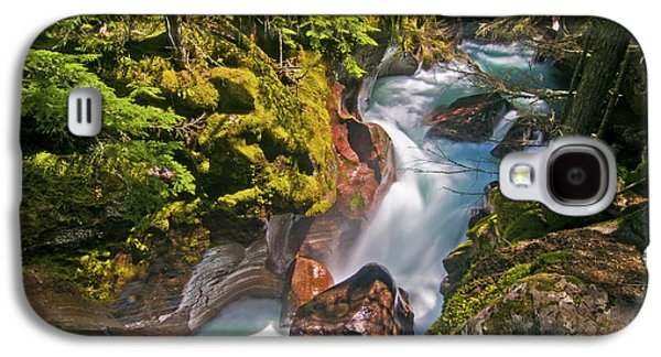 Galaxy S4 Case featuring the photograph Avalanche Gorge by Gary Lengyel