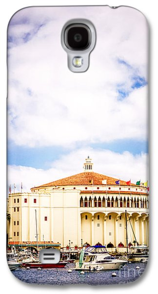 Avalon Casino Catalina Island Vertical Picture Galaxy S4 Case by Paul Velgos