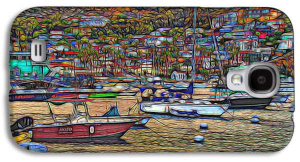 Avalon Harbor Sunset Galaxy S4 Case
