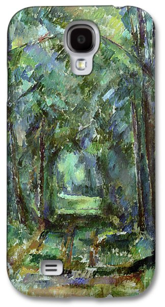 Avenue At Chantilly Galaxy S4 Case by Paul Cezanne