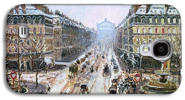 Avenue De L'opera - Effect Of Snow Galaxy S4 Case