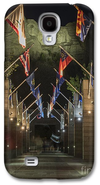Avenue Of Flags Galaxy S4 Case by Juli Scalzi