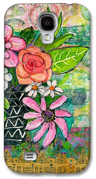 Avery Daisy Flower Galaxy S4 Case