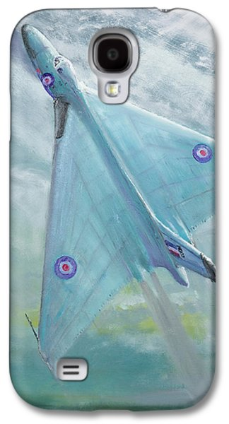 Avro Vulcan B1 Night Flight Galaxy S4 Case by Vincent Alexander Booth