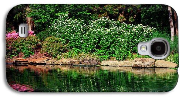 Galaxy S4 Case - Azalea Reflection At Honor Heights Park by Tamyra Ayles