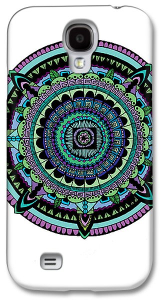 Azteca Galaxy S4 Case by Elizabeth Davis