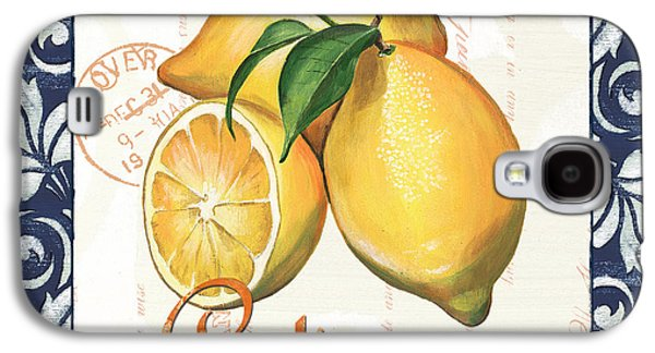 Text Galaxy S4 Cases - Azure Lemon 2 Galaxy S4 Case by Debbie DeWitt