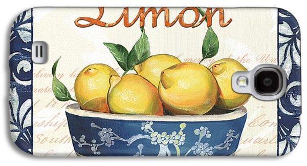Azure Lemon 3 Galaxy S4 Case by Debbie DeWitt