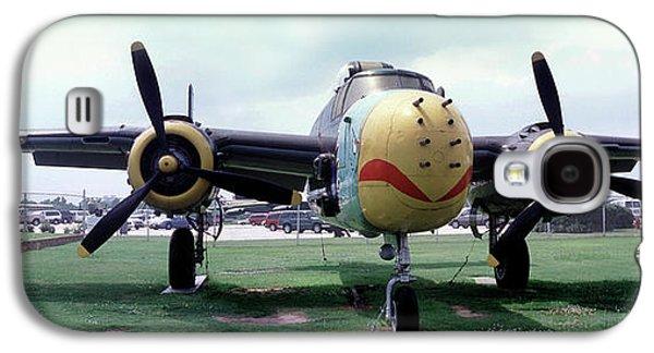 B-25j Mary Alice II, Mitchell Bomber Galaxy S4 Case