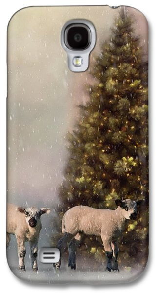Baa Humbug - Seasonal Art Galaxy S4 Case