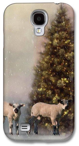 Baa Humbug - Seasonal Art Galaxy S4 Case by Jordan Blackstone