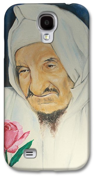 Baba Sali With Rose Galaxy S4 Case