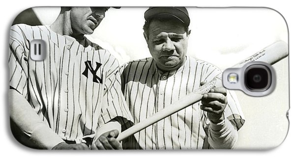 Babe Ruth And Lou Gehrig Galaxy S4 Case