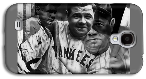 Babe Ruth Collection Galaxy S4 Case by Marvin Blaine
