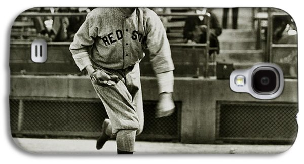 Babe Ruth Pitching Galaxy S4 Case