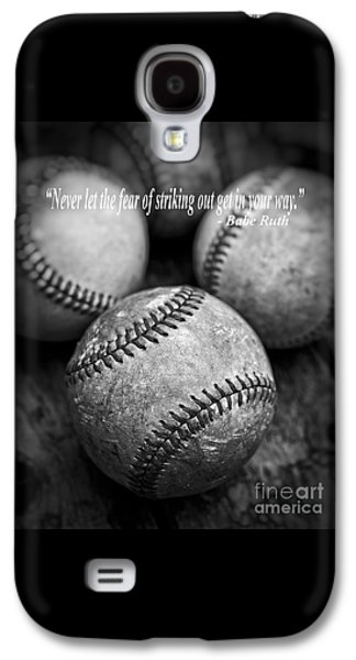 Babe Ruth Quote Galaxy S4 Case