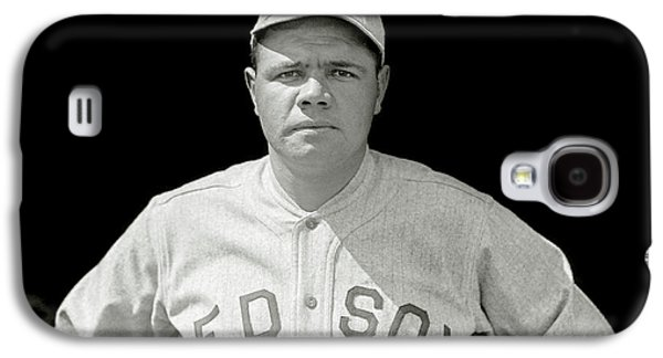 Babe Ruth Red Sox Galaxy S4 Case