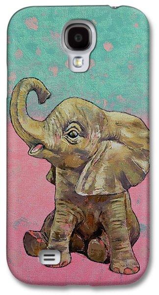 Baby Elephant Galaxy S4 Case