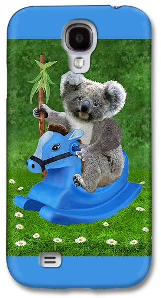 Baby Koala Buckaroo Galaxy S4 Case by Glenn Holbrook