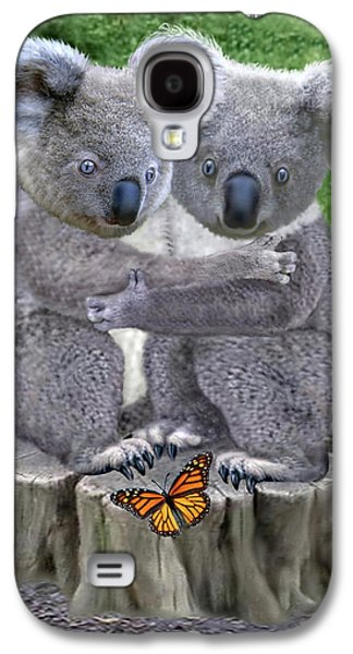 Baby Koala Huggies Galaxy S4 Case by Glenn Holbrook