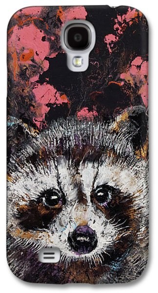 Baby Raccoon Galaxy S4 Case