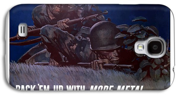 Back 'em Up -- Ww2 Galaxy S4 Case by War Is Hell Store