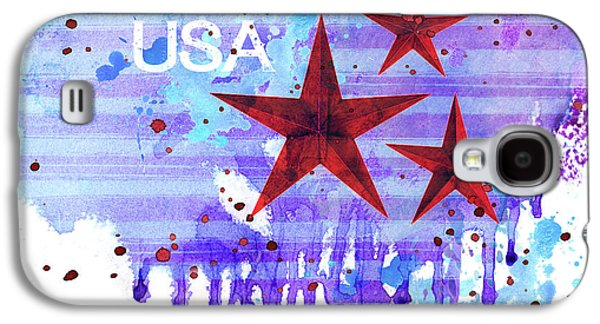 Back In The Usa Galaxy S4 Case by Colleen Taylor