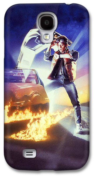 Back To The Future 1985 Galaxy S4 Case