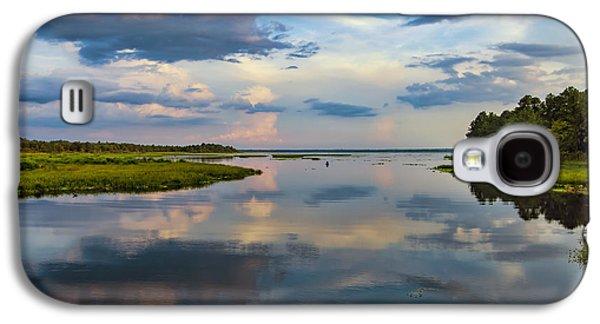 Backwater Sunset Galaxy S4 Case