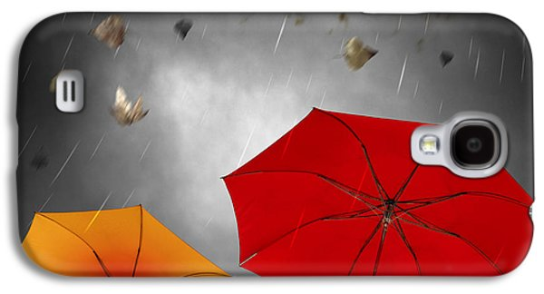 Element Photographs Galaxy S4 Cases - Bad Weather Galaxy S4 Case by Carlos Caetano