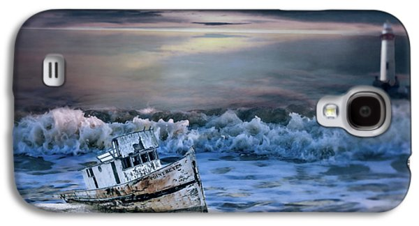 Waterscape Galaxy S4 Case - Bad Weather by Theresa Campbell