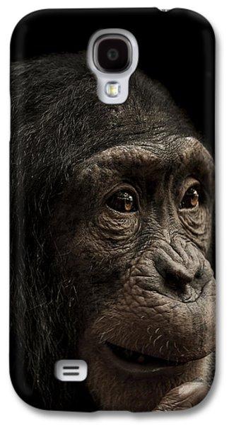 Chimpanzee Galaxy S4 Case - Baffled by Paul Neville