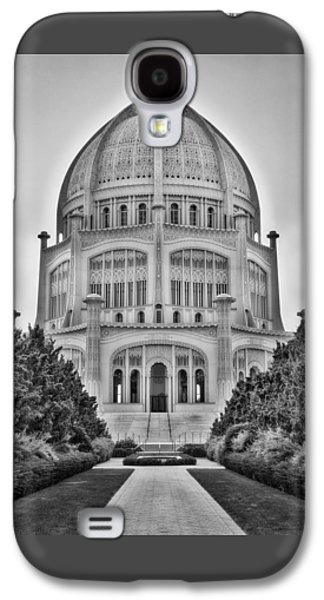 Baha'i Temple - Wilmette - Illinois - Vertical Black And White Galaxy S4 Case