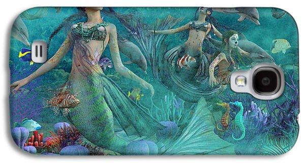 Bajo El Mar De Los Muertos  Galaxy S4 Case by Betsy Knapp