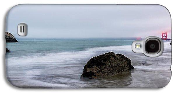 Baker Beach Obscured Galaxy S4 Case by Jon Glaser