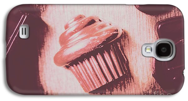 Baking Chocolate Cupcake Galaxy S4 Case