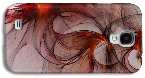 Balance Of Power Abstract Art Galaxy S4 Case