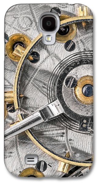 Balance Wheel Of An Antique Pocketwatch Galaxy S4 Case by Jim Hughes