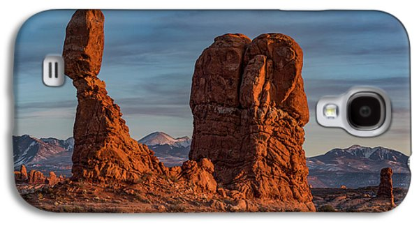 Balanced Rock Sunset Galaxy S4 Case