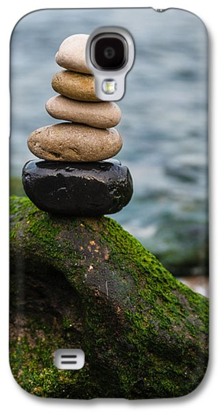 Balancing Zen Stones By The Sea IIi Galaxy S4 Case