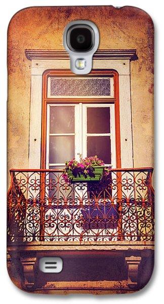 Balcony In Lisbon  Galaxy S4 Case