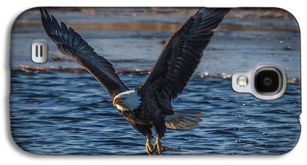 Bald Eagle With Fish Galaxy S4 Case by Paul Freidlund